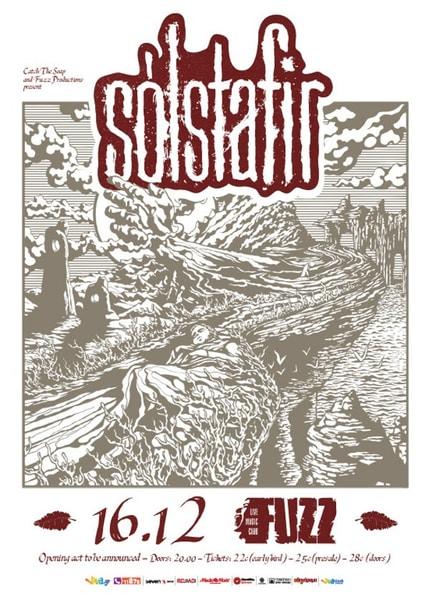 Οι Sólstafir την Κυριακή 16 Δεκεμβρίου στο Fuzz Live Music Club