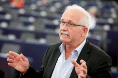 Ο Udo Bullmann στο πρώτο του ταξίδι στην Ελλάδα ως Πρόεδρος του S&D