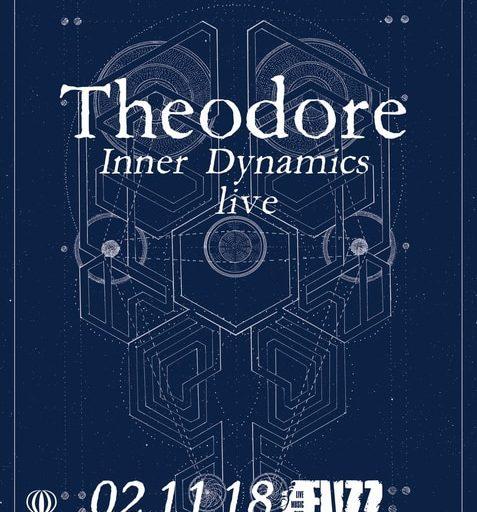 Ο Theodore την Παρασκευή 2 Νοεμβρίου στο Fuzz Live Music Club