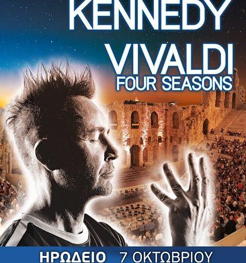 Οι 4 εποχές του Vivaldi από τον Nigel Kennedy στο Ηρώδειο την Πέμπτη 7 Οκτωβρίου
