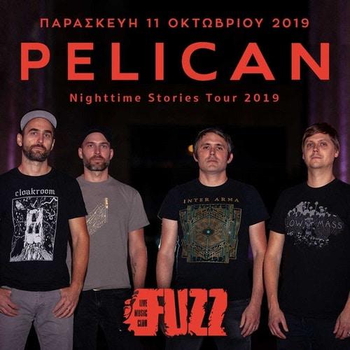 Οι Pelican την Παρασκευή 11 Οκτωβρίου στο Fuzz Live Music Club