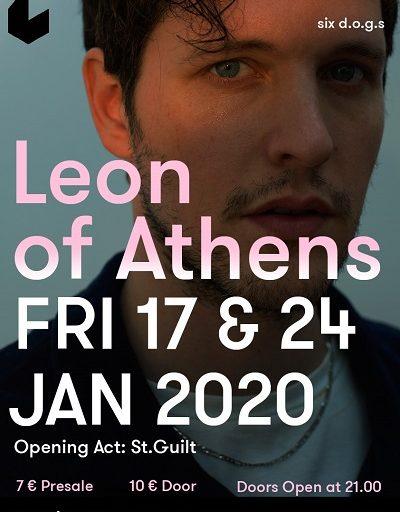 Leon of Athens live @SIX D.O.G.S. τις Παρασκευές 17 και 24 Ιανουαρίου