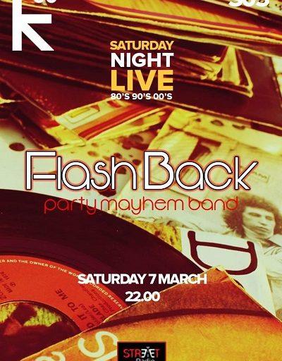 Οι Flashback the party band στο Κ55 το Σάββατο 7 Μαρτίου