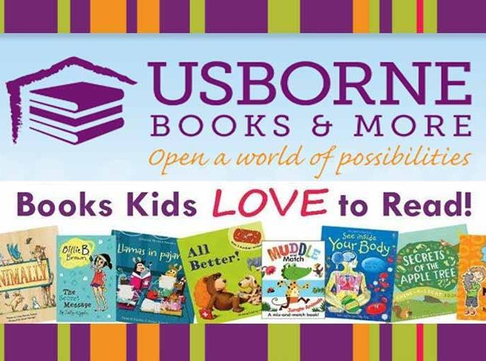 Usborne : Edutainment Fun Books For Kids