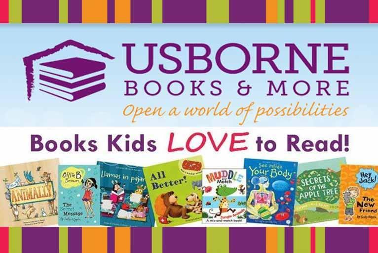 Usborne : Edutainment Fun Books For Kids