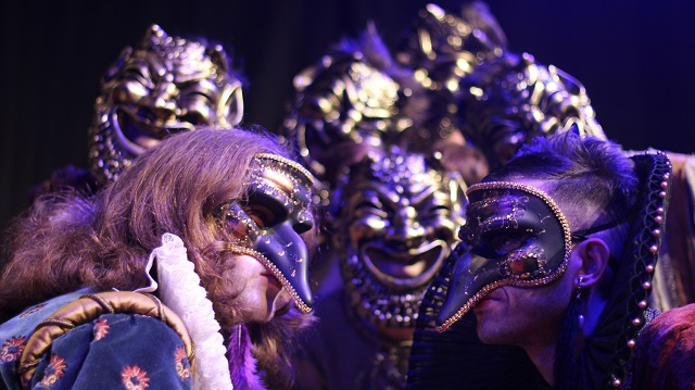 Καλλιτεχνικές δράσεις από την Αθηναϊκή σκηνή Κάλβου Καλαμπόκη στο ανοιχτό θέατρο Γκράβας στις 24 Ιουλίου