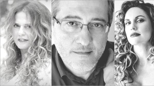 Γιώργος Ανδρέου, Ελένη Τσαλιγοπούλου και Κορίνα Λεγάκη στην Σύρο την Δευτέρα 24 Αυγούστου