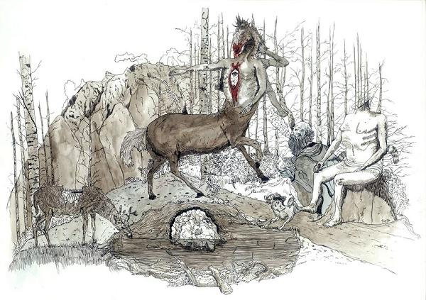 """""""Αρρηφόροι"""" η έκθεση του Γιώργου Τσόπανου συνεχίζεται στην γκαλερί Έρση μέχρι το Σάββατο 3 Οκτωβρίου"""