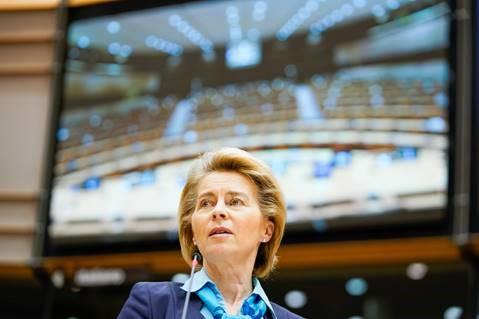 Συζήτηση για την κατάσταση της Ένωσης: η πρόεδρος von der Leyen στο Κοινοβούλιο