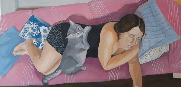 """""""Ιερή καθημερινότητα"""" έκθεση της Βερονίκης Δαμιανίδου στο Black Duck gallery από 3 μέχρι 18 Νοεμβρίου"""
