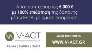 V Act Συμβουλευτική Αναπτυξιακή