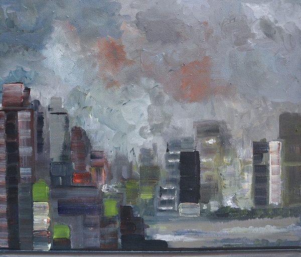 """Spring Formula"" έκθεση ζωγραφικής της Εβίτας Κανέλλου από τις 11 Μαϊου στην Gallery Genesis"