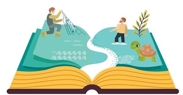 """""""Το μαγικό τετράδιο : Ελλάδα"""" online αφήγηση παραμυθιού για παιδιά την Κυριακή 11 Απριλίου"""