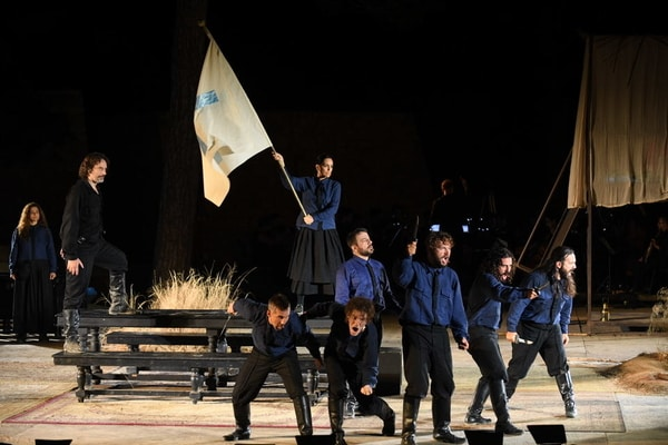 """Ο """"Καπετάν Μιχάλης"""" του Δημήτρη Μαραμή την Κυριακή 10 Οκτωβρίου στο Ωδείο Ηρώδου του Αττικού"""